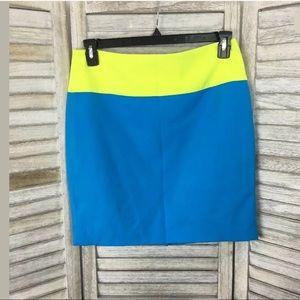 Prabal Gurung for Target Colorblock Skirt Sz 8